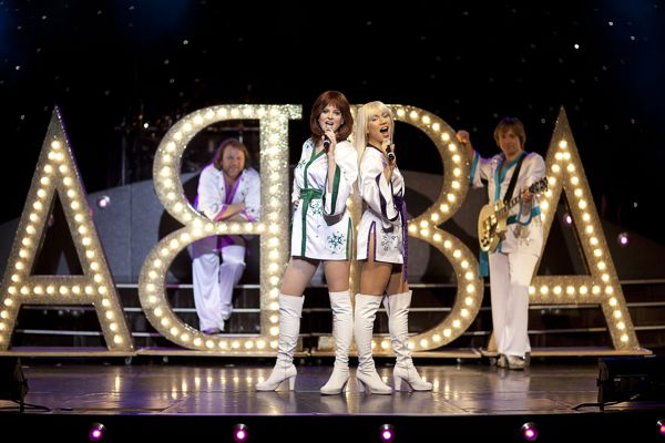 abba onstage