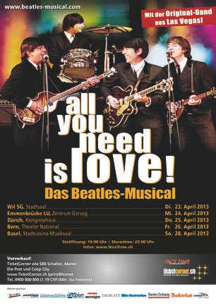 Flyer Beatles